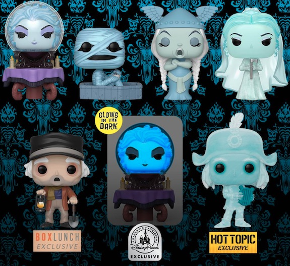 Ultimate Funko Pop Disney Parks Exclusive Figures Checklist and Gallery 32