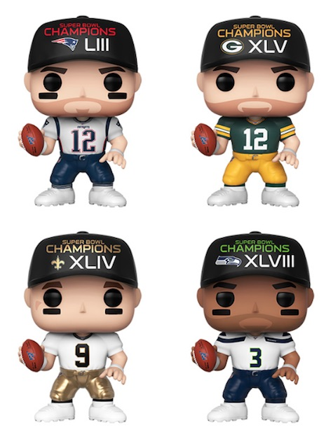 Ultimate Funko Pop NFL Football Figures Checklist and Gallery 154
