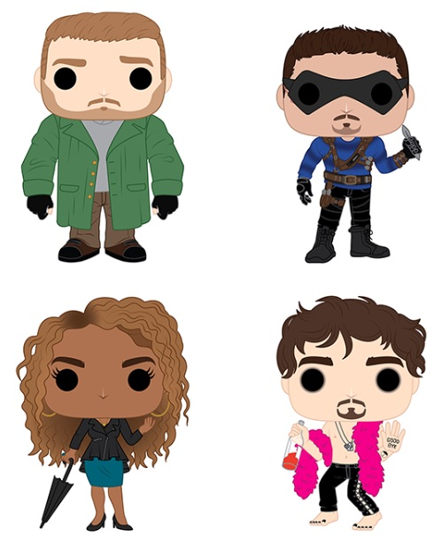 Funko Pop Umbrella Academy Vinyl Figures 1
