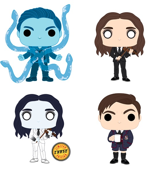 Funko Pop Umbrella Academy Vinyl Figures 2