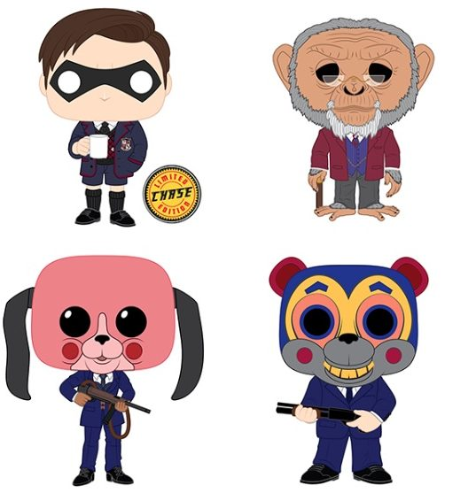 Funko Pop Umbrella Academy Vinyl Figures 4
