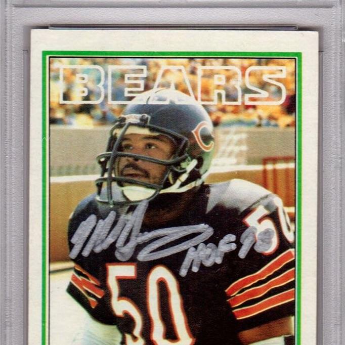 meet d4ae1 c72ae Mike Singletary Cards, Rookies, Autographed Memorabilia ...