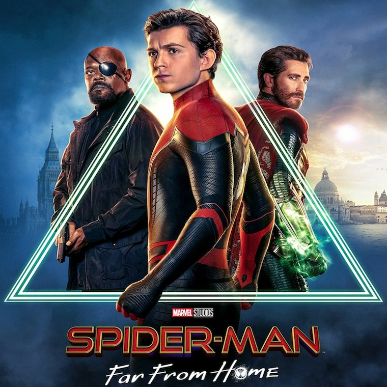 Spiderman far From Home Movie Large Poster Art Print