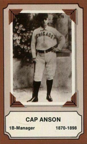 Top 10 Cap Anson Baseball Cards 1