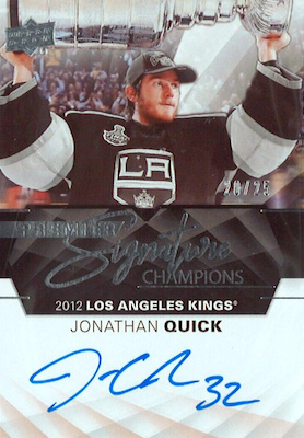 2018-19 Upper Deck Premier Hockey Cards 31