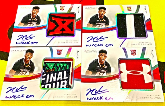 2019-20 Immaculate Collection Collegiate Basketball Cards 2
