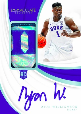 2019-20 Immaculate Collection Collegiate Basketball Cards 3