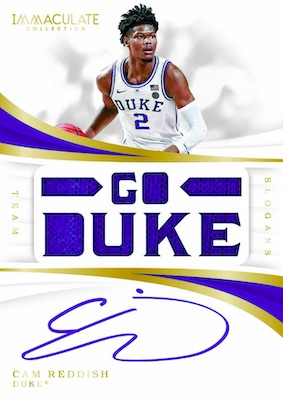 2019-20 Immaculate Collection Collegiate Basketball Cards 7