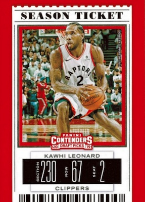 2019-20 Panini Contenders Draft Picks Basketball Cards 27