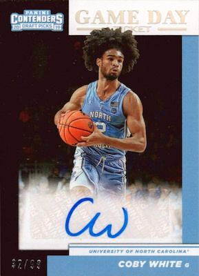 2019-20 Panini Contenders Draft Picks Basketball Cards 34