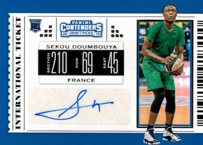 2019-20 Panini Contenders Draft Picks Basketball Cards 33