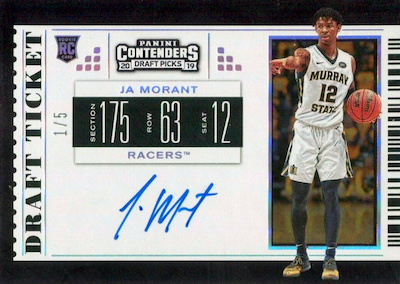 2019-20 Panini Contenders Draft Picks Basketball Cards 28