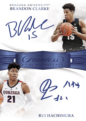 2019-20 Panini Flawless Collegiate Basketball Cards 7