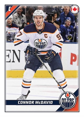 2019-20 Topps NHL Sticker Collection Hockey Cards 1