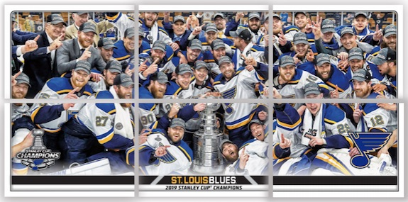 2019-20 Topps NHL Sticker Collection Hockey Cards 4