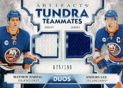 2019-20 Upper Deck Artifacts Hockey Cards 47