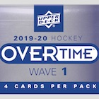 2019-20 Upper Deck Overtime Hockey Cards - Wave 3 Checklist