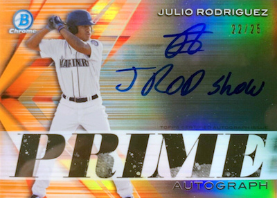 2019 Bowman Chrome Baseball Cards 34