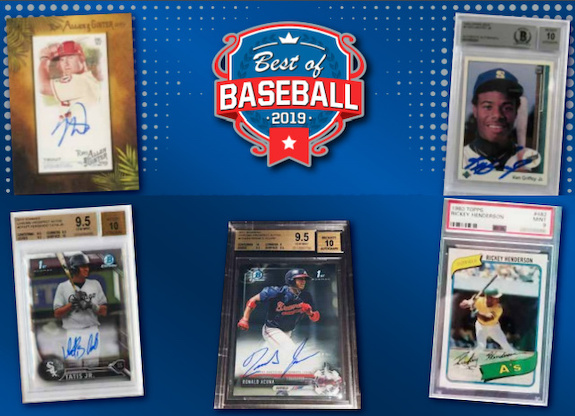 2019 Leaf Best of Baseball Cards 1