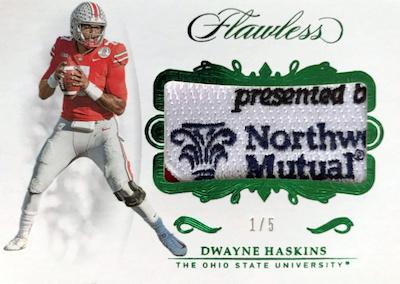 2019 Panini Flawless Collegiate Football Cards 29