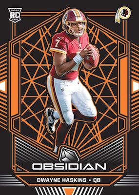 2019 Panini Obsidian Football Cards 4