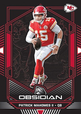 2019 Panini Obsidian Football Cards 3