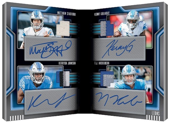 2019 Panini Playbook Football Cards 7