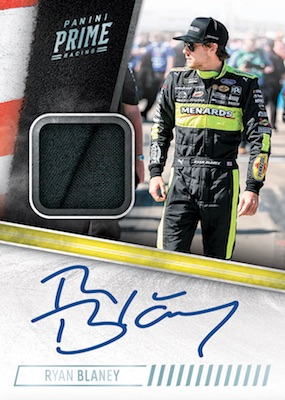 2019 Panini Prime Racing NASCAR Cards - Checklist Added 4