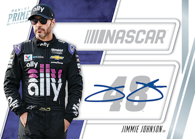 2019 Panini Prime Racing NASCAR Cards - Checklist Added 7