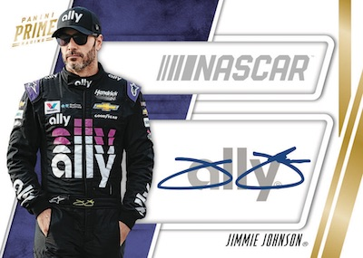 2019 Panini Prime Racing NASCAR Cards - Checklist Added 8