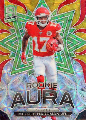 2019 Panini Spectra Football Cards 43
