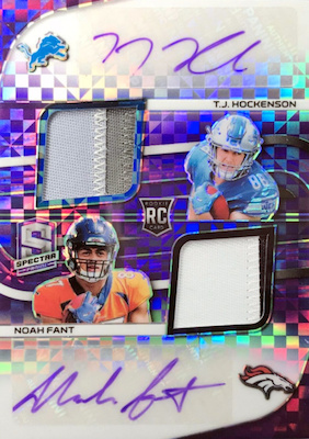 2019 Panini Spectra Football Cards 30