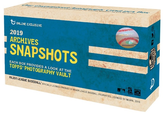 2019 Topps Archives Snapshots Baseball Cards 5