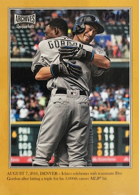 2019 Topps Archives Snapshots Baseball Cards 7