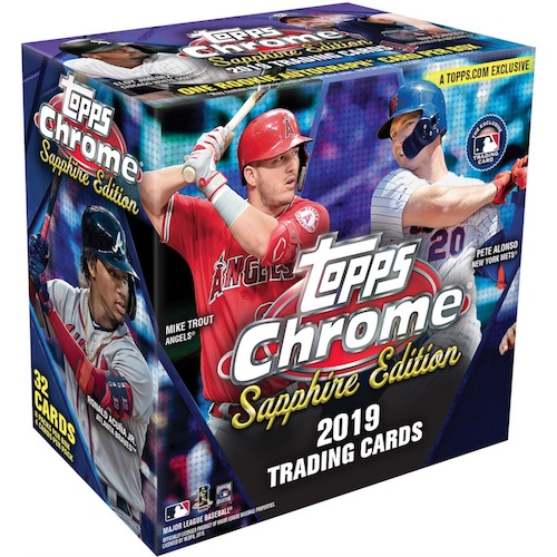 2019 Topps Chrome Sapphire Edition Baseball Cards 3