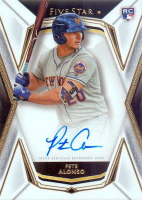 ROY! Pete Alonso Rookie Cards Guide and Top Prospects List 32