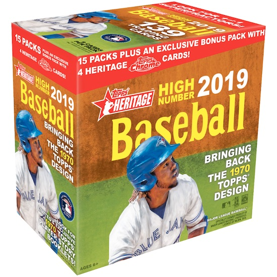 2019 Topps Heritage High Number Mega Box Chrome Baseball Cards 1