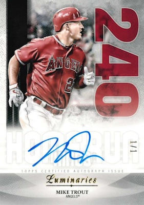 2019 Topps Luminaries Baseball Cards 30