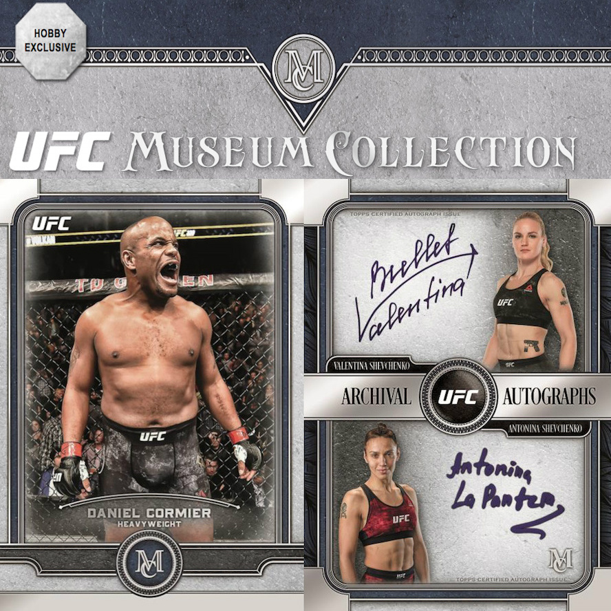 2019 Topps UFC Museum Collection Checklist Info, Reviews, Boxes, Date