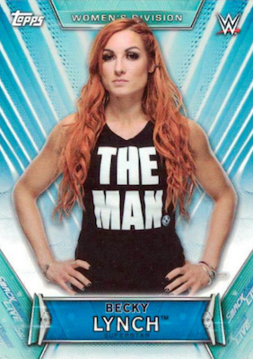 2019 Topps WWE Women's Division Wrestling Cards 23