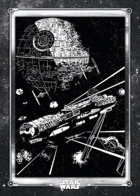 2020 Topps Star Wars Return of the Jedi Black & White Trading Cards 6