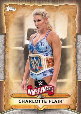 2020 Topps WWE Road to WrestleMania Cards 1