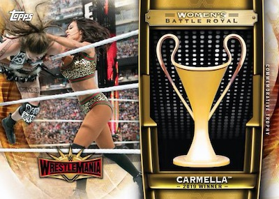 2020 Topps WWE Road to WrestleMania Cards 4