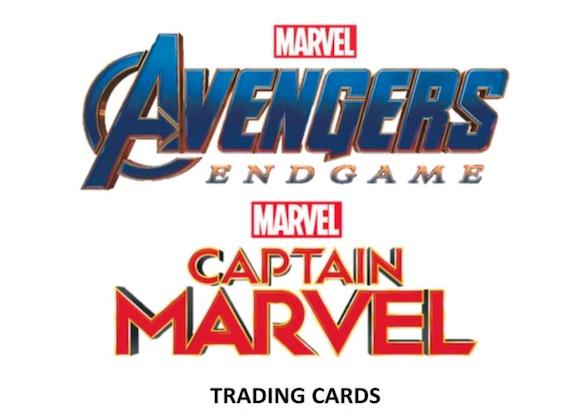 2020 Upper Deck Avengers Endgame & Captain Marvel Trading Cards 3