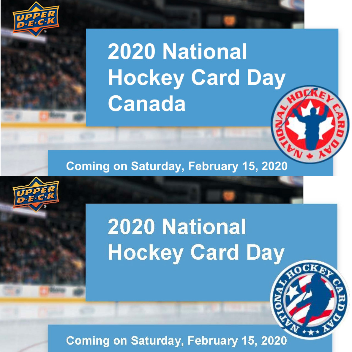 2020 Upper Deck National Hockey Card Day Trading Cards 3