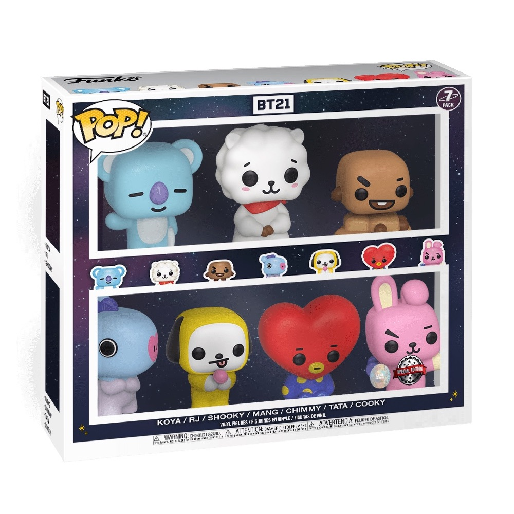 BT21 POP Animation Chimmy Brand New In Box Funko