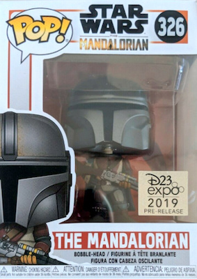Funko Pop Star Wars The Mandalorian Figures 1