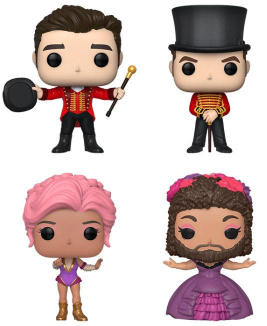 Funko Pop The Greatest Showman Figures 1