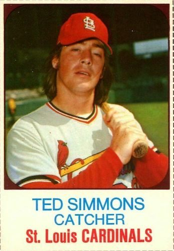 Top 10 Ted Simmons Baseball Cards 3
