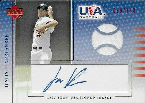 Top Justin Verlander Baseball Cards 5
